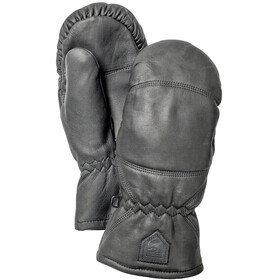 Hestra Leather Box Mittens black